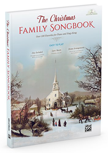 - The Christmas Family Songbook (Book & DVD-ROM)