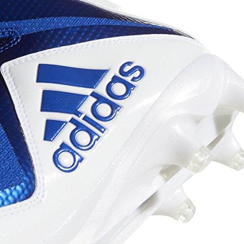 Adidas Maniaco X Carbonio Metà Mens Tacchetto Calcio Bianco-collegiale Reale