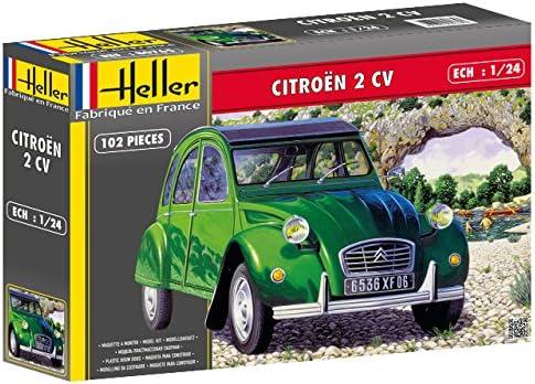 Heller 1:24 Gift Set Citroen 2 Cv