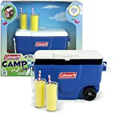 Sophia's 18 Inch Doll Playset, Doll Sized Blue Coleman Cooler & Lemonade Glasses Perfect for 18 Inch American Girl and other Mini Play Food Sets! Coleman Cooler, Lemonade Doll Items