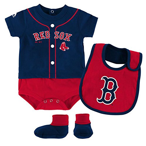 Boston Red Sox Infant Clothing - 3