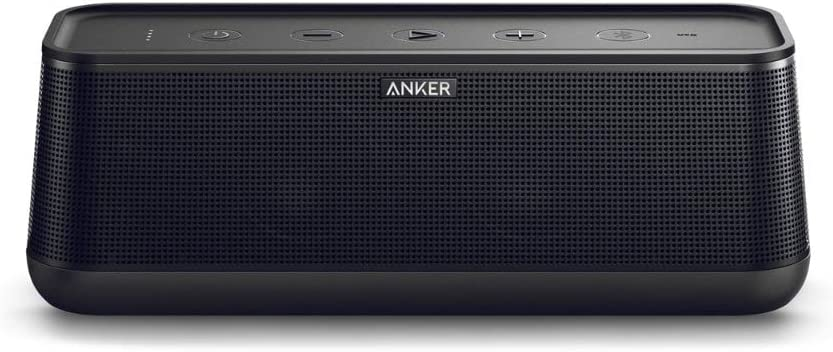 Anker SoundCore Pro 25W Bluetooth Speaker with Enhanced Bass and High Definition Sound, 18-Hour Playtime, Water-Resistant, BassUp Technology, Portable Design, Speaker for Home or Backyard