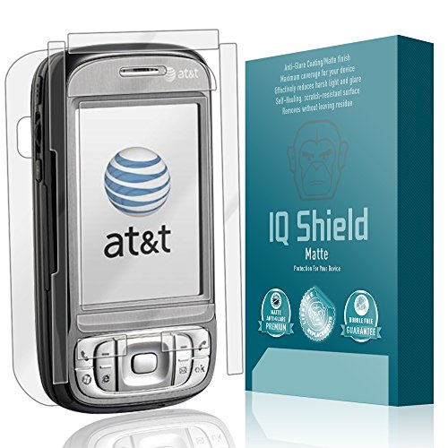 IQ Shield Matte Full Coverage Anti-Glare Full Body Skin + Screen Protector for HTC Tilt 8925 Anti-Bubble Film
