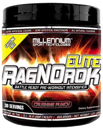 Millennium Sport Technologies, RagNOrok Elite Caffeine Free Pre Workout (All-Natural Flavors and
