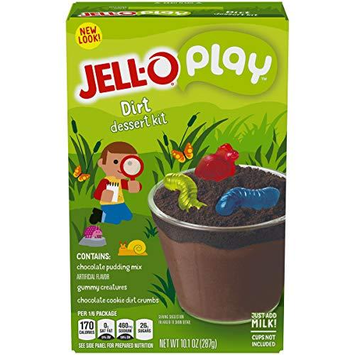 JELL-O Play Oreo Creation Cups Gelatin Dessert Mix (10.1 oz Box)]()