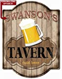 Cheap Tavern Bar Sign – Personalized Hardboard Sign From Redeye Laserworks