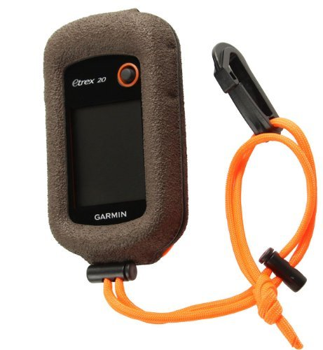 Garmin eTrex 30 20 10 CASE MADE IN THE USA BY GizzMoVest LLC in 'Hunter's Coffee'.