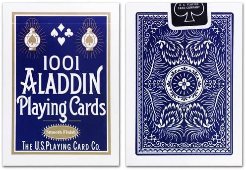 Caja de 12 Barajas Aladdin (12 Azul): Amazon.es: Juguetes y juegos