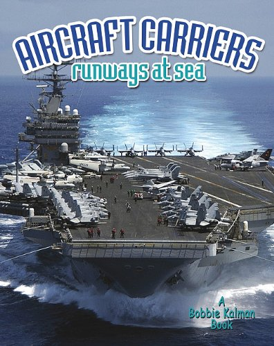 Download Aircraft Carriers: Runways at Sea (Vehicles on the Move) pdf epub