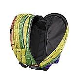 IMOBABY Brick Wall Rampart School Backpack Book Bag Travel Daypack