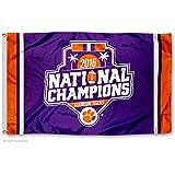 Clemson Tigers Football National Champions Flag