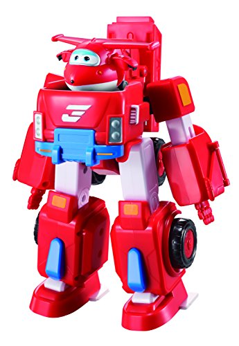 Super Wings - Robo Rig | Toy Vehicle Set |, Includes Transform-a-Bot Jett Figure | 2'' Scale by Super Wings - (Image #2)