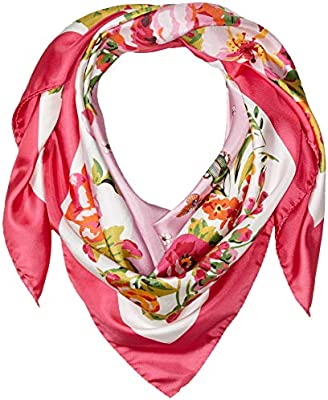 italian como print scarf