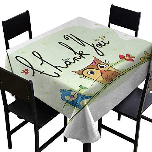 Animal Square Tablecloth 50