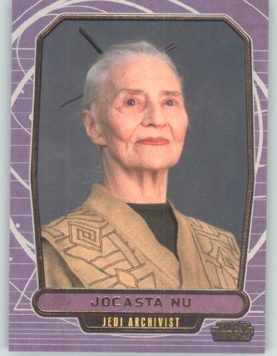 2012 Star Wars Galactic Files #56 Jocasta Nu (Non-Sport Collectible Trading Cards) from Star Wars