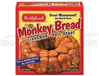 product image for Bridgford Foods Cinnamon Monkey Bread, 16 Ounce -- 8 per case.