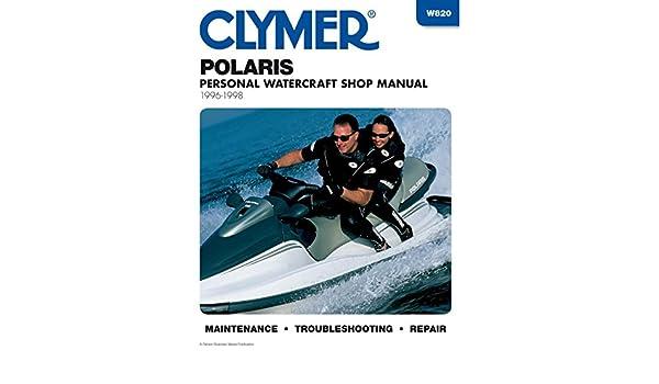 amazon com clymer repair manual for polaris watercraft pwc 96 98 rh amazon com 1999 polaris sltx 1050 repair manual 1997 polaris sltx 1050 manual