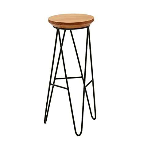 Awe Inspiring Amazon Com Non Rotating Bar Stool Unadjustable Bar Stool Customarchery Wood Chair Design Ideas Customarcherynet