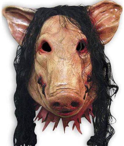 Dodom Máscara de Cerdo de látex Unisex Disfraz de Disfraces de ...