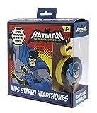 DC Comics (DC0412) Batman Headphones for Children Aged 3-7 Years