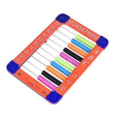 MICKYU Plastic Abacus Toy- Classic Educational Counting Toys for Kids with 100 Beads: Toys & Games