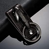 Amazon.com: Occus Snake Head Keychain Key Ring Genuine ...