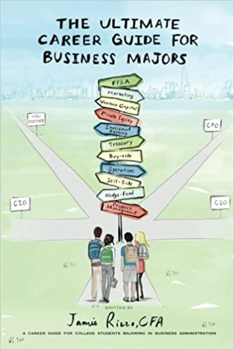 The Ultimate Career Guide for Business Majors: Jamie Rizzo CFA