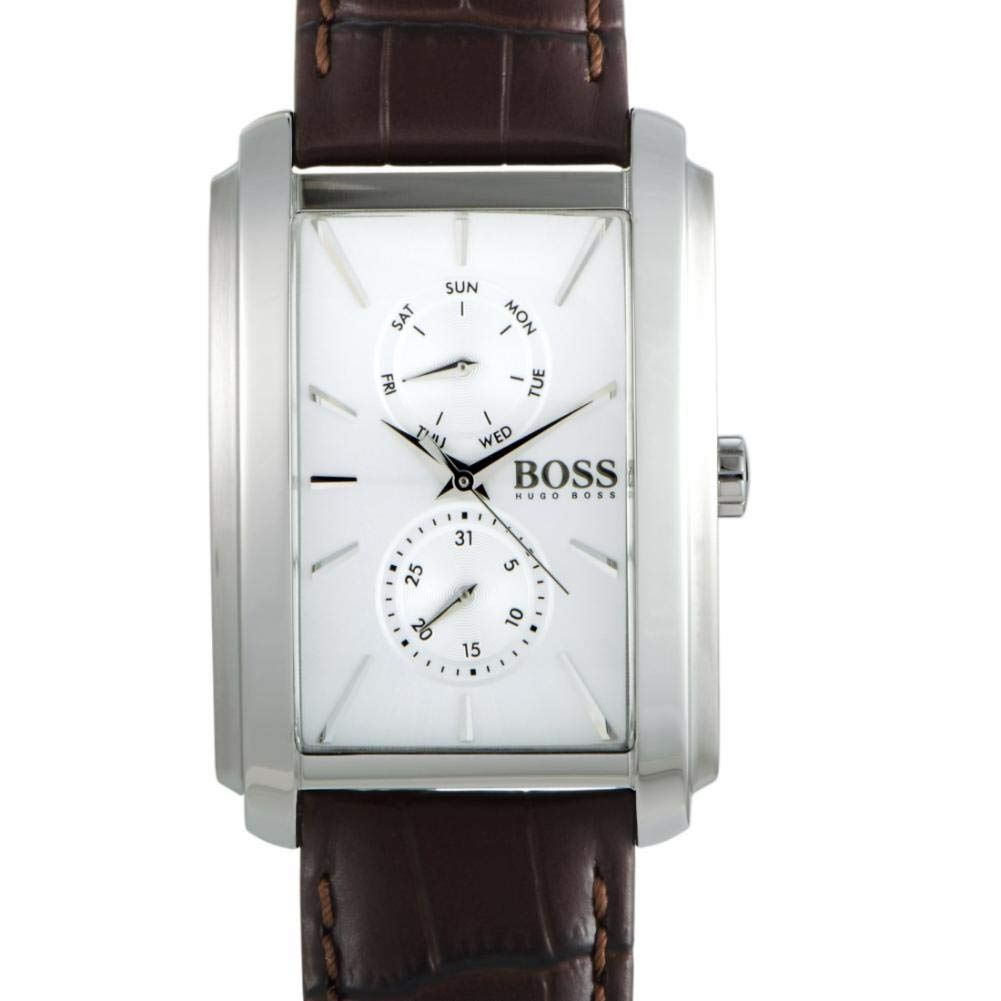 Hugo Boss Ambition Quartz Male Watch 1513592 (Certified Pre-Owned)