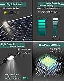 4000LM Solar Street Light-6000K LED Solar Powered