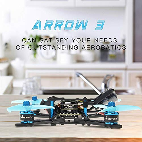Wikiwand HGLRC Arrow 3 FPV Racing Drone 6S PNP F4 1408 Motor Camera DIY Quadcopters by Wikiwand (Image #4)