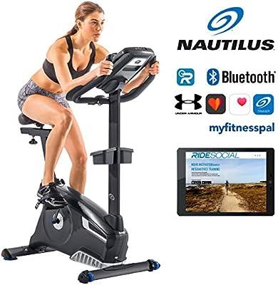 Nautilus -Bicicleta estática Nautilus U628 29 programas-25 niveles ...