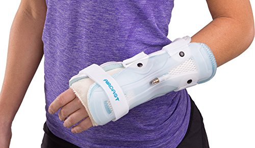 Aircast StabilAir Wrist Support Casting Brace, Left Hand, Medium by Aircast