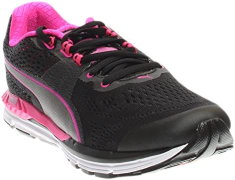 509347460b26f1 Puma Men s Speed 600 Ignite Black Pink Glow Aged Silver Ankle-High Running  Shoe - 9. 5M  Buy Online at Low Prices in India - Amazon.in