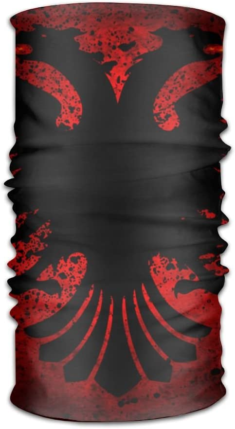 Red Star Pattern Unisex Fashion Quick-Drying Microfiber Headdress Outdoor Magic Scarf Neck Neck Scarf Hooded Scarf Super Soft Handle