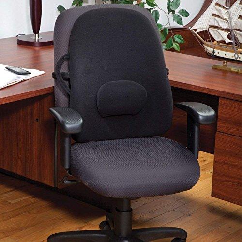 (ObusForme Black Lowback Backrest Removable Adjustable Lumbar Support, 6 Pound)