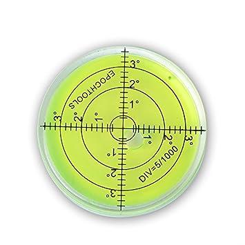10 marcadores de nivel de burbuja de burbuja, 106 mm, instrumentos ...