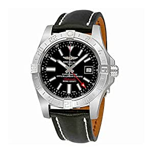 Breitling Avenger II GMT Black Dial Mens Watch A3239011-BC35BKLD