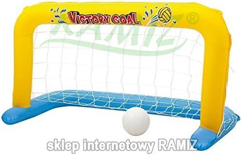 Inflable Portería de Waterpolo con balón: Amazon.es: Juguetes y juegos