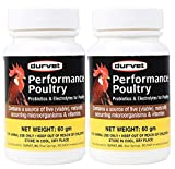 Durvet 2 Pack of Performance Poultry, 60 Grams
