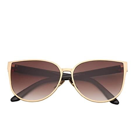 Yangjing-hl Gafas de Sol Reflective Face Super Large Box ...