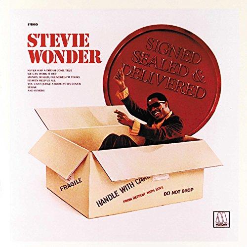 Signed, Sealed And Delivered - Wonder Vinyl Records Stevie