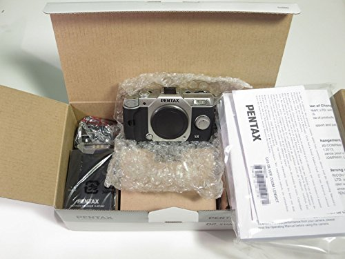 Pentax Q10 12.4 MP Digital Camera - Silver (Body Only) Pentax Q10 Compact