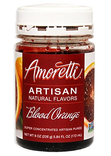 (Amoretti Blood Orange Artisan Fruit Puree 8 Oz)