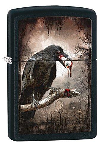 Zippo Goth-Raven Eyeball Pocket Lighter]()