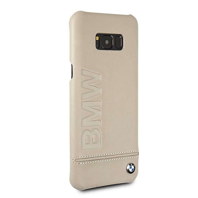 sneakers for cheap 483b9 19d60 Amazon.com: BMW Samsung Galaxy S8 Plus Case - by CG Mobile - Taupe ...