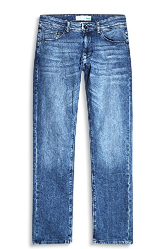 Blu blue Medium Esprit Jeans Dritto Uomo Wash 902 R1S1tCWnx