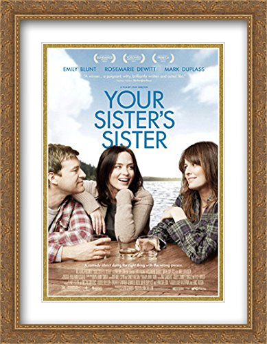 Your Sister's Sister 28x36 Double Matted Large Large Gold Ornate Framed Movie Poster Art Print