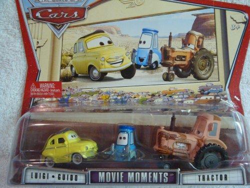 Disney Pixar Movie Moments Luigi, Guido & Tractor 1:55 (Luigi Guido Tractor)