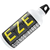 Water Bottle EZE Airport Code for Buenos Aires 20oz / 600ML