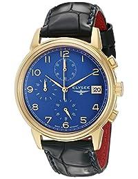 ELYSEE Men's 80552 Classic-Edition Analog Display Quartz Blue Watch